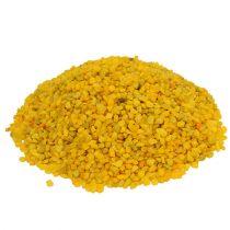 Granulé décoratif jaune 2mm - 3mm 2kg