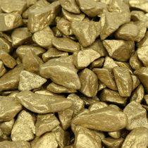 Pierres décoratives 9mm - 13mm 2kg or jaune