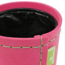 """Pot de décoration """"Suki"""" rose Ø12,5cm H12,5cm, 1pce"""