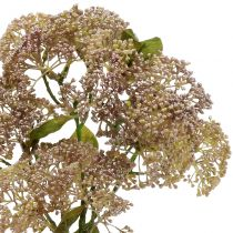 Branche décorative orpin rose clair 58 cm