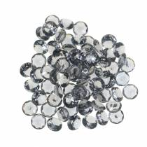 Pierres décoratives diamant acrylique gris Ø1.2cm 175g Bijoux de mode