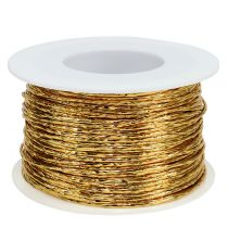 Fil de fer enrobé doré Ø 2 mm 100 m