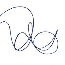 Fil de papier armé 50 m bleu foncé
