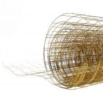 Maille métallique dorée 35cm 5m