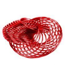 Petites roues Métal Rouge Ø4,5cm 6P