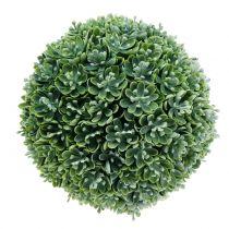 Boule d'echeveria artificiel vert Ø 18 cm