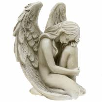 Bijoux tombe ange décoratif 16,5 cm × 12 cm H19 cm