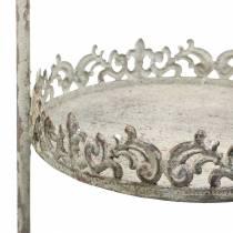 Etagere gris antique H66,5cm