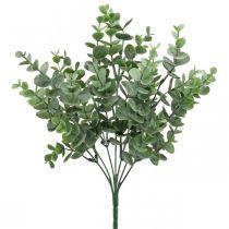 Branche d'eucalyptus vert Décoration artificielle d'eucalyptus au pic 36cm