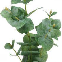 Branche d'Eucalyptus Plante verte artificielle Décoration Eucalyptus 75cm