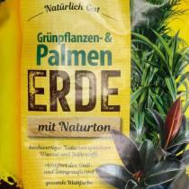 FRUX terre végétale verte et palmier 18l