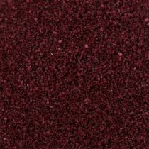 Sable coloré 0,5 mm bordeaux 2 kg