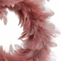 Décoration de Pâques guirlande de printemps rose ancienne Ø25cm décoration de printemps