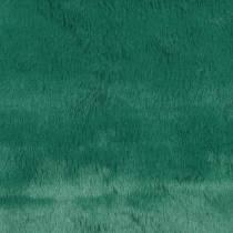 Ruban de fourrure décoratif vert foncé 20cm x 200cm