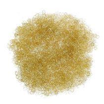 Fleur cheveux clinquant d'or 200g cheveux d'ange