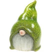 Nain de jardin lutin vert 20 cm