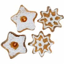 Biscuits épars étoiles 24pcs