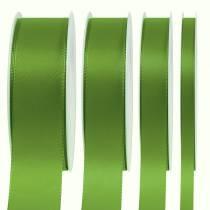 Ruban cadeau et décoration vert 50 m