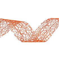 Ruban cadeau orange 3 cm 10 m