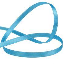 Ruban cadeau bleu clair 6 mm 50 m