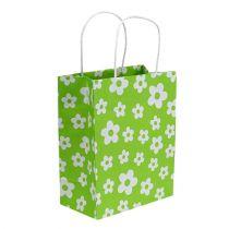 Pochettes à cadeaux verte 20 x 11 x 25 cm 8 p.