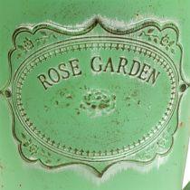 Arrosoir vert antique Ø19cm H30cm
