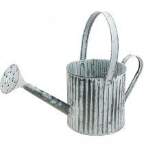 Pot en métal pour la plantation, arrosoir pour la décoration, pot de plantation Ø17cm