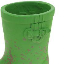 Pot à plantes miniature botte en caoutchouc 10,5 cm 6 p.