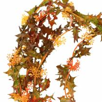 Guirlande d'automne orange 3m