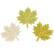 Feuilles d'érable à parsemer couleurs d'automne assorties 4 cm 72 p.