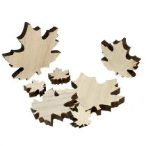 Mélange de feuilles d'érable en bois 2,5-7 cm 36 p.