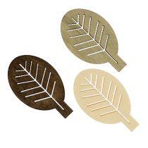 Mélange de feuilles en bois aux couleurs naturelles 4 cm 72 p.