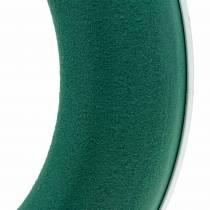 OASIS® bague couronne mousse florale verte H3cm Ø25cm 6pcs