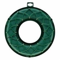 OASIS® IDEAL bague universelle mousse florale couronne verte H4cm Ø18,5cm 5pcs