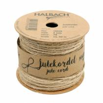 Cordon en jute naturel Ø2mm 50m