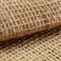 Tissu jute naturel 140cm 10m