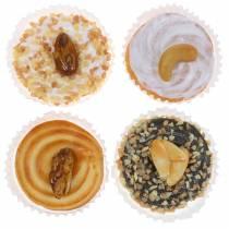 Tartes aux noix triées artificiellement 5cm 4pcs