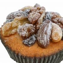 Muffins aux noix artificielles 7cm 3pcs