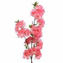 Branche de fleur de cerisier artificiel Rose 103cm