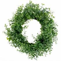 Couronne eucalyptus vert Ø36cm