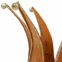 Couronne effet oxydé Gold Ø6.5 / 8.5cm 2pcs dans un ensemble