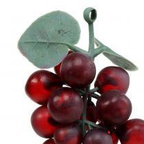 Raisins artificiels Bordeaux 10cm