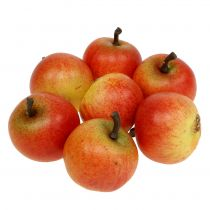 Pommes de fruits artificielles Cox 3.5cm 24pcs
