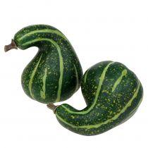 Potiron artificiel vert foncé 11cm 6pcs