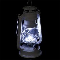 Lanterne LED à intensité variable avec 15 ampoules, blanc froid 24,5 cm