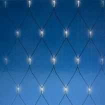 Filet lumineux à LED 384 amp. blanc chaud 3x3 m pour l'extérieur