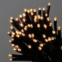 Guirlande lumineuse LED lucioles 480 amp. 36 m extérieur, noir/blanc chaud
