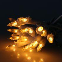 Mini guirlande à LED 20 amp. blanc chaud 3 m