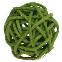 Lataball 3cm vert blanchi 72pcs