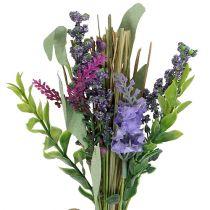 Bouquet garni artificiel avec lavande 23 cm